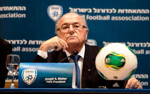 Presidente da Fifa relembra Holocausto