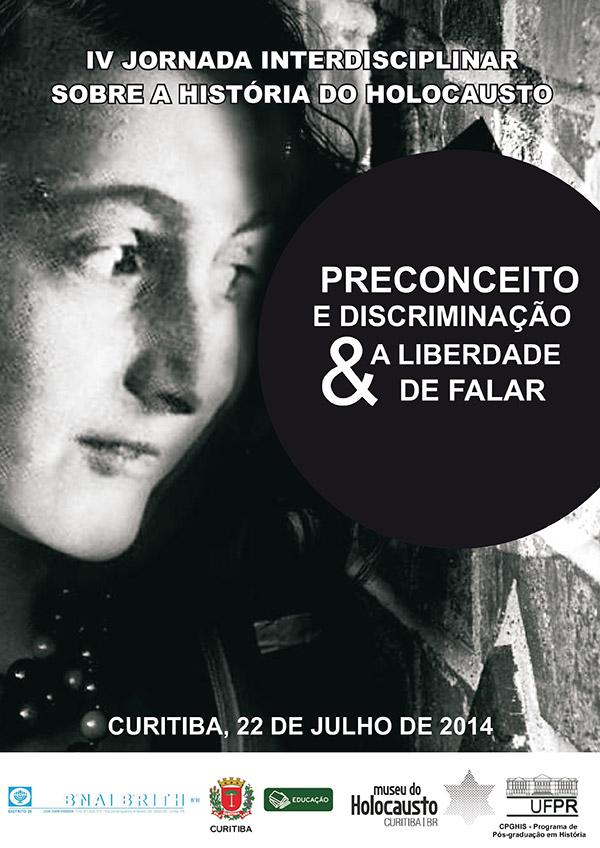 B'nai B'rith realiza em Curitiba a  IV  Jornada sobre a história do  Holocausto