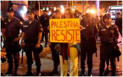 Manifestações pró Hamas em SP e RJ terminam em confusão