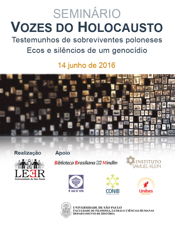 SEMINÁRIO VOZES DO HOLOCAUSTO