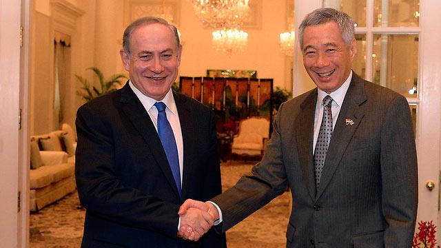 Netanyahu-em-Cingaoura