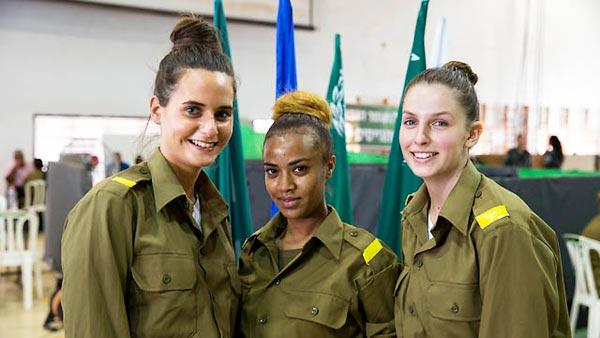 Polícia de Fronteira de Israel registra maior alistamento feminino da história
