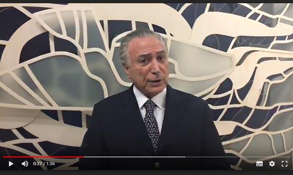 Presidente da República envia mensagem de Rosh Hashaná